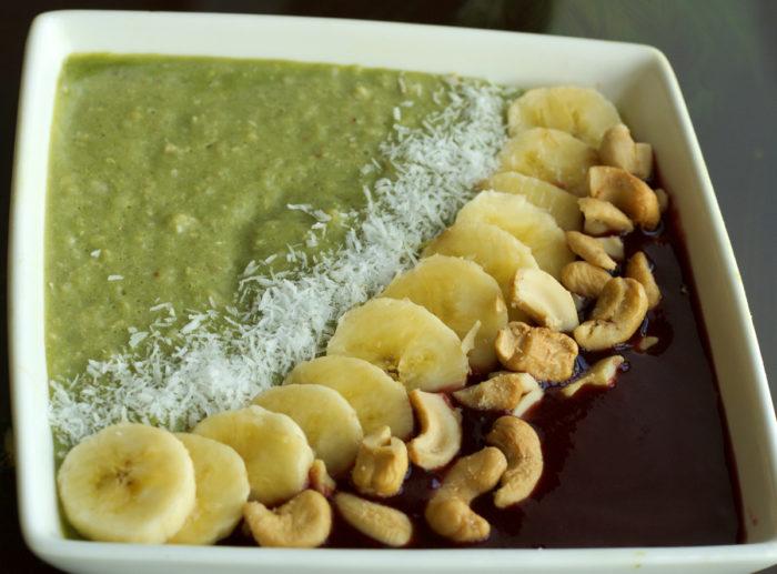 porridge matcha