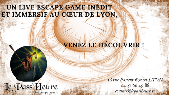 pass heure escape game