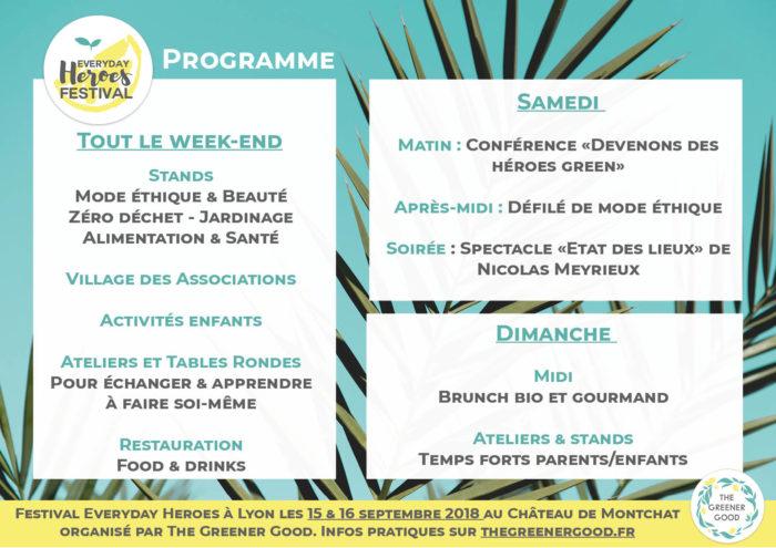 programme festival lyon