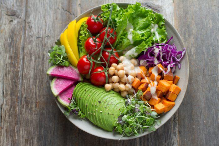 légumes colorés antioxydants