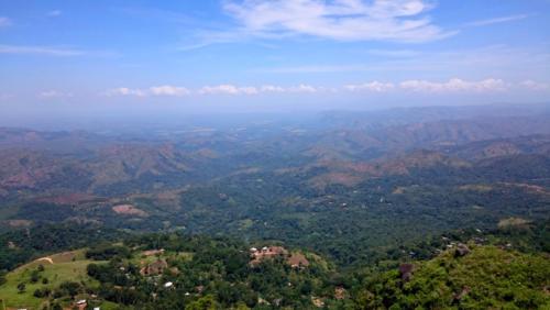 Magnifique panorama, sur la route entre Haputale et Adisham