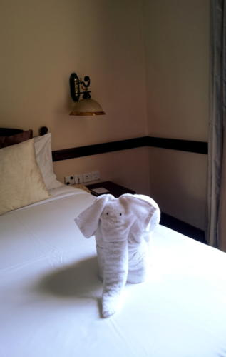Grand Hotel, Nuwara Eliya : on découvre notre jolie chambre