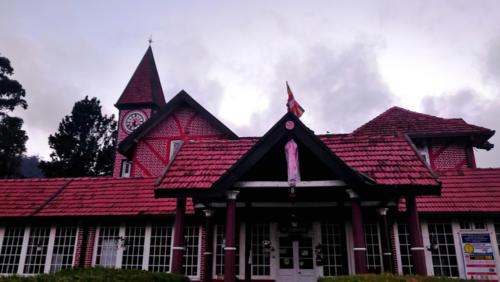 Nuwara Eliya : le bureau de poste, construit en 1894