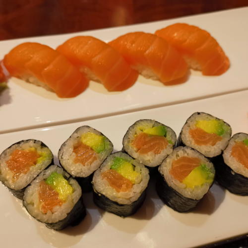 Yumi, les meilleurs sushis de ma vie...